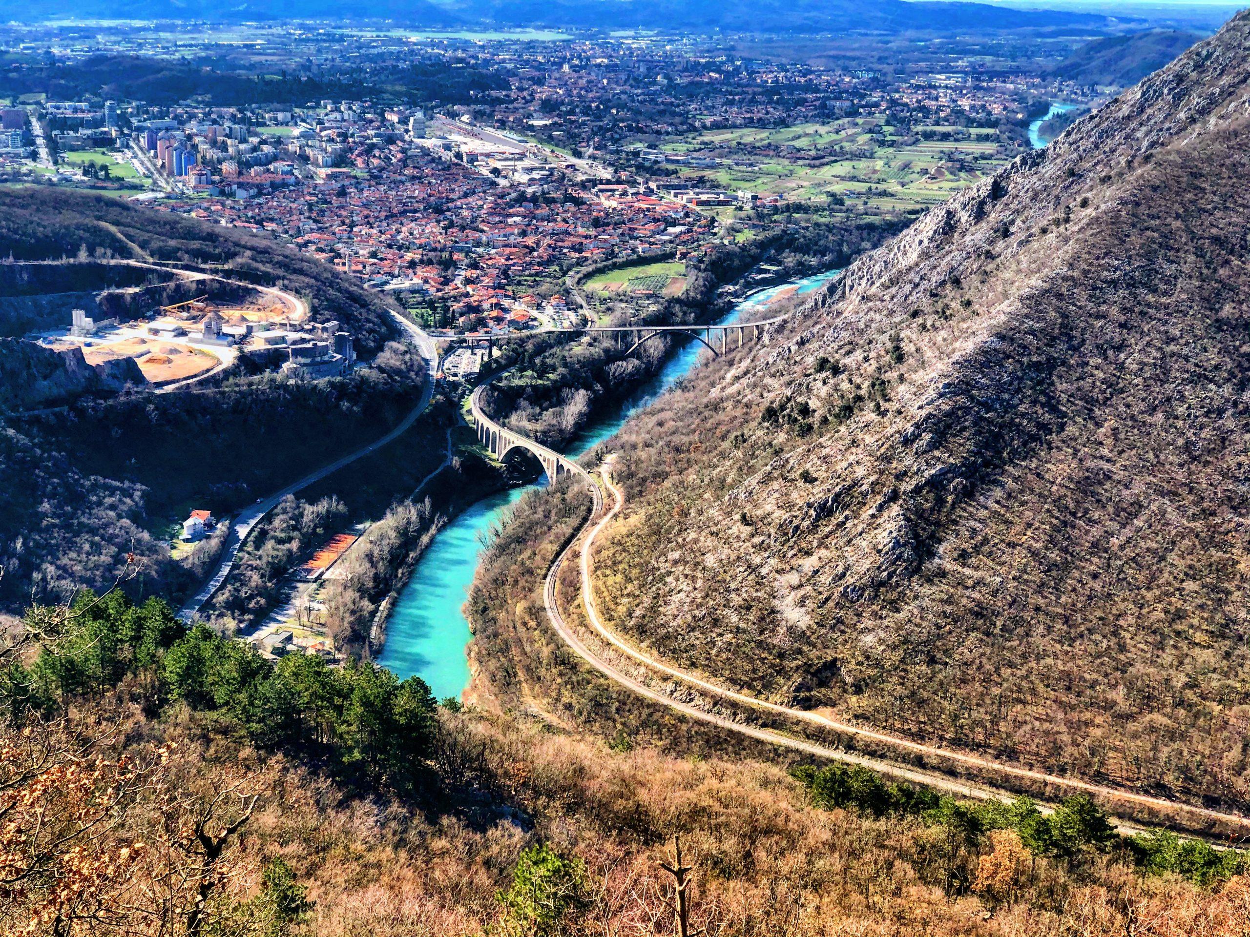 Priprave gorskih tekačev v Novi Gorici