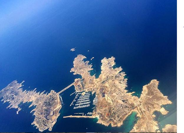Moj prvi let – Marseille