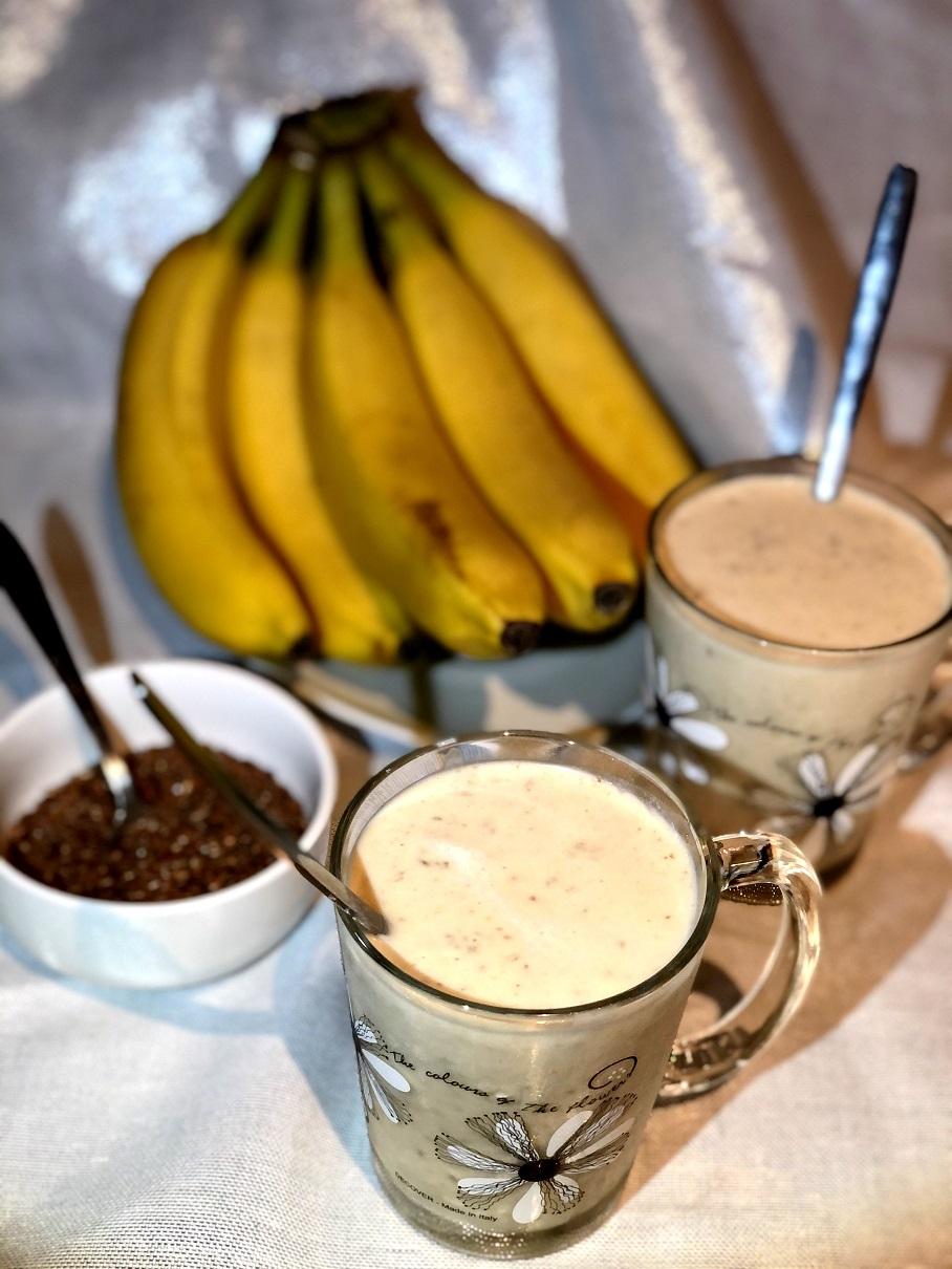 Bananino-arašidov smoothie