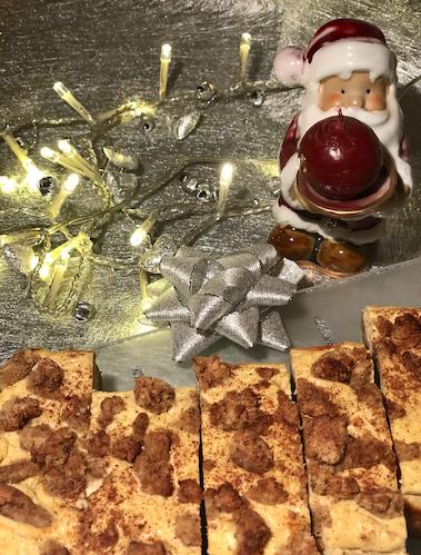 Božično pecivo z okusom medenjakov