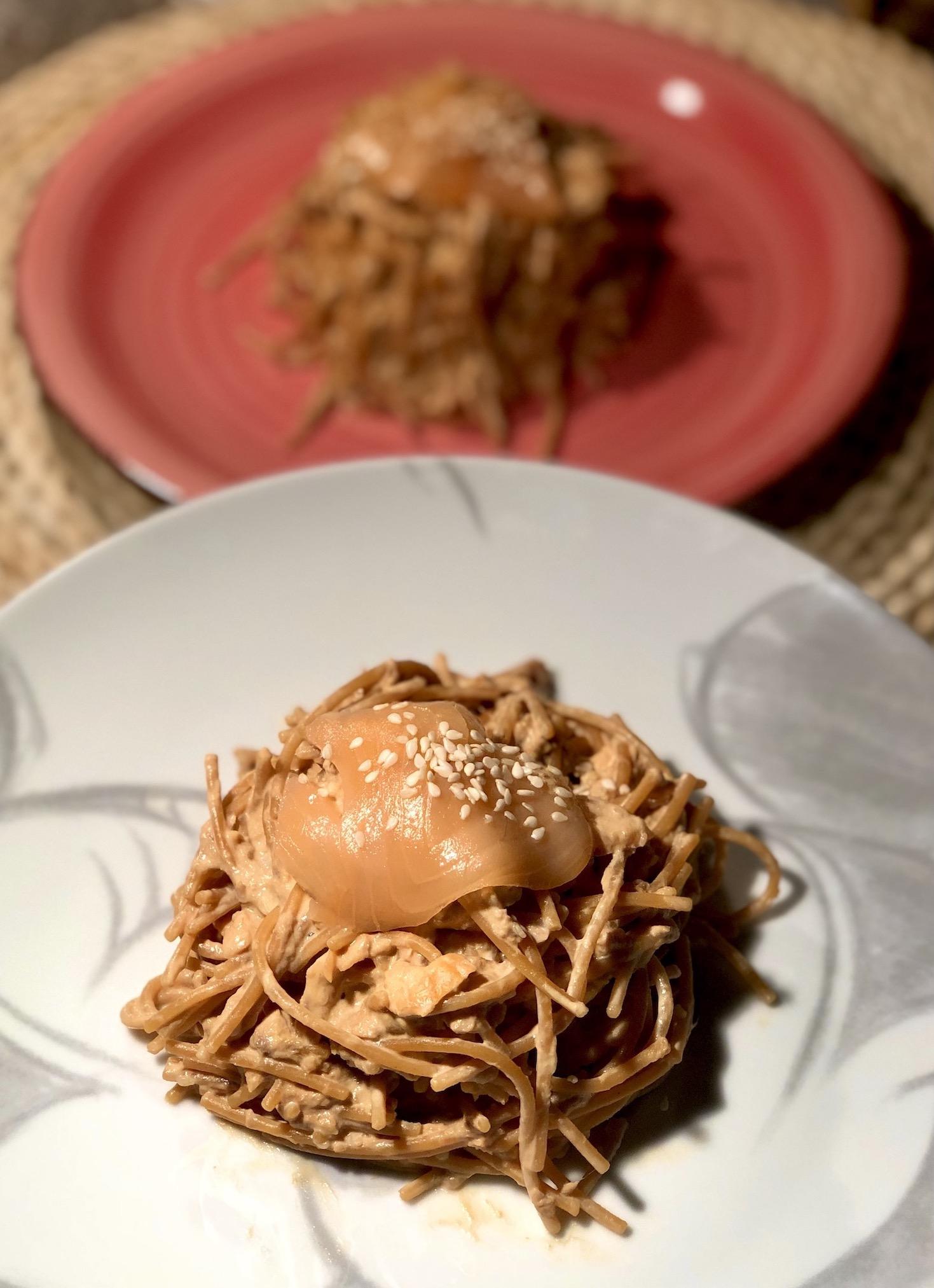 Lečini špageti na dva načina